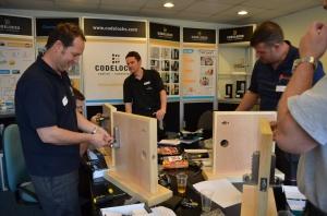 Locksmiths training sessions at Codelocks HQ Newbury