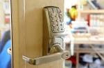 An electronic digital door lock
