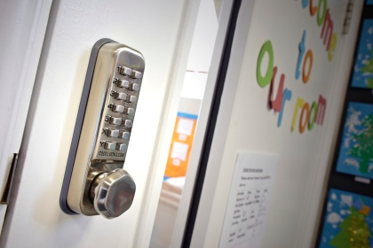 Access controlled at Tigers Day Nursery