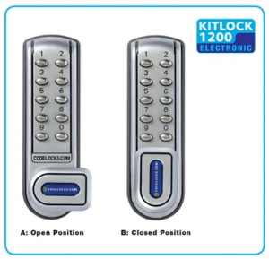 KitLock CL1200 Digital Cabinet Lock