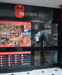The Fitness Society front door