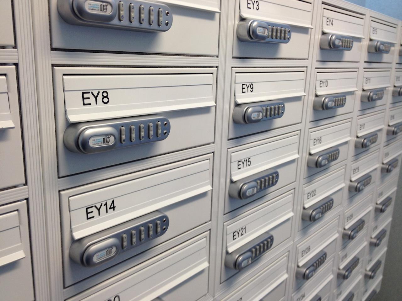 KitLock The Keyless Digital Lock For Securing Mail