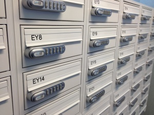 KitLock secures letterbox
