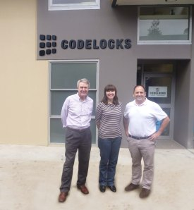 Codelocks opens office in Australia