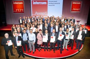 Winners of this year's interzum award
