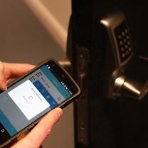 Access using smart phone