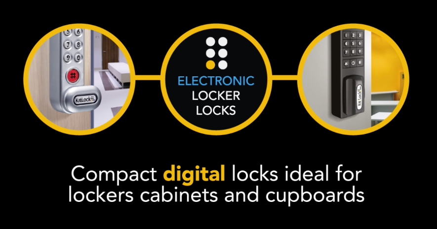 Electronic locker locks