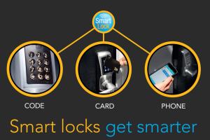 Smart Locks Get Smarter. Code. Card. Phone