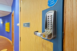 Mechanical push button Codelocks door lock